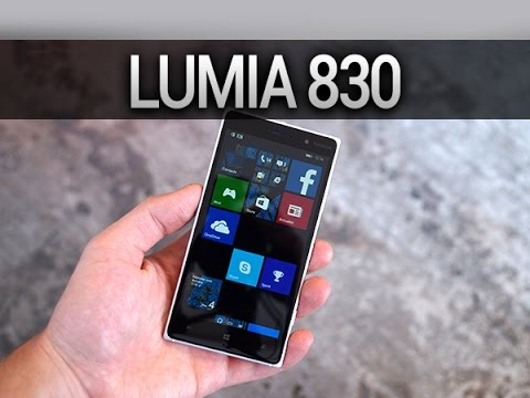 Nokia Lumia 830, prise en main - par Test-Mobile.fr