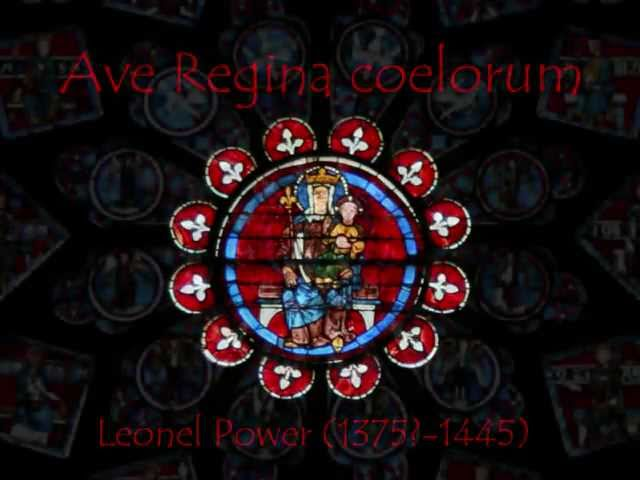 Medieval Music - Ave Regina coelorum by Leonel Power