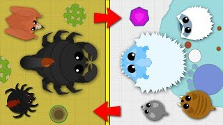MOPE.IO / DESERT BIOME VS ARTIC BIOME WHICH IS BETTER? / BEST BIOME TO LEVEL UP IN UPDATED!