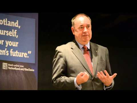 Public Meeting with Alex Salmond - Yes Scotland