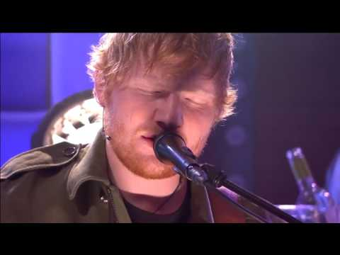 Ed Sheeran Performs How Would You Feel - First Live Perfomance