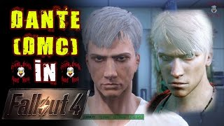 FALLOUT 4 - Character Creation DANTE (Devil May Cry)