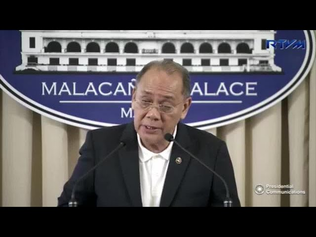 President is just expressing frustration vs CHR