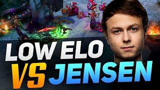 Jensen Abuses the Mistakes of Low Elo Players - LoL Guides