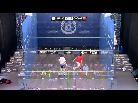 Squash : Allam British Open 2013 - Rd1 Roundup part 3