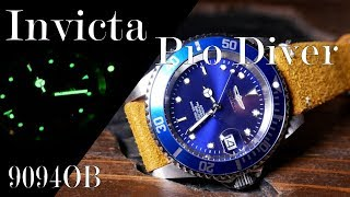 An Infamous Shade of Blue: Invicta Pro Diver Review (9094OB)