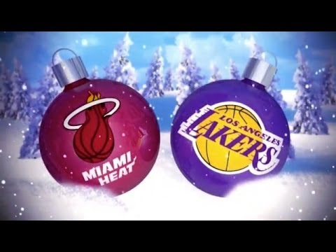 Heat vs Lakers Christmas Day - NBA 2K14