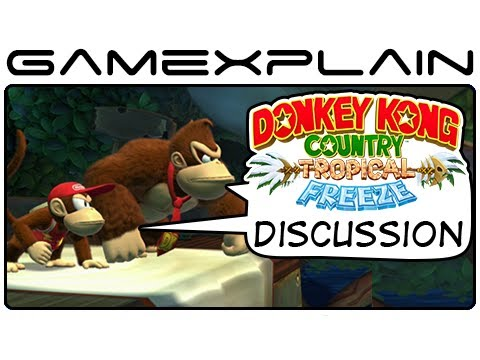 Donkey Kong Country: Tropical Freeze - Thoughts & Impressions (E3 2013 Video Preview)