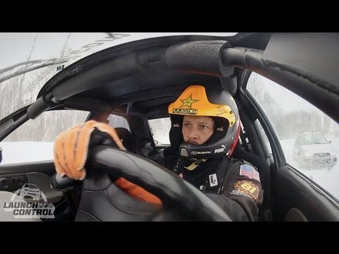 Launch Control: Subaru PUMA Rallycross driver Bucky Lasek gets sideways in Vermont - Episode 4