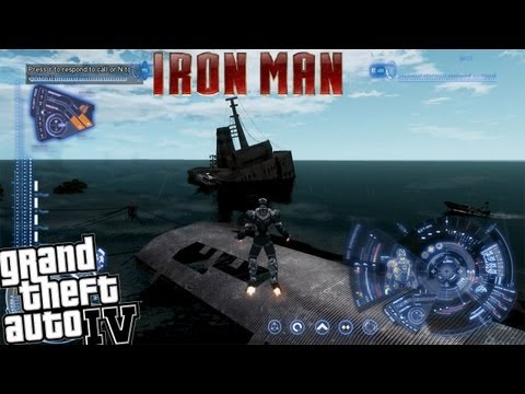 GTA IV LCPDFR Iron Man Mod Police Patrol - Episode 11 - Can Iron Man Save People