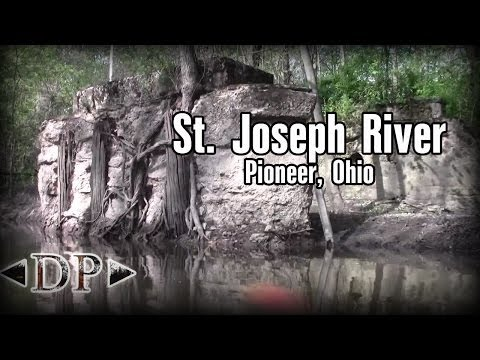 Kayaking the St. Joseph River - Pioneer, Ohio