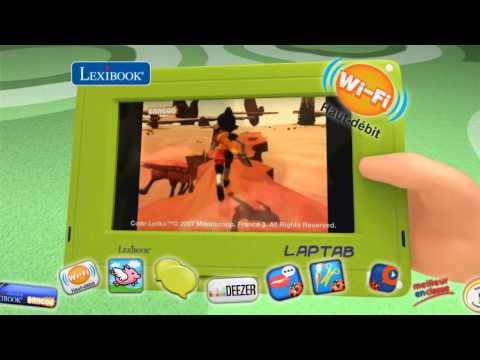 Lexibook Laptab - Spot TV 10''