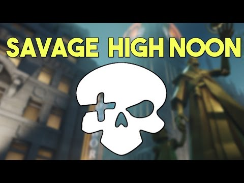 The Most Savage High Noon Ever - Funny Overwatch Series #36