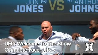 "UFC Staredowns from the ""Welcome To The Show"" Press Conference (HD/ Complete / Unedited)"