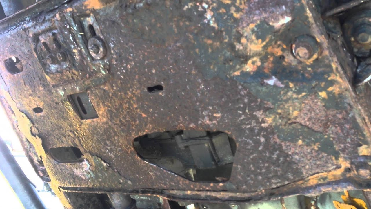 1995 Jeep Wrangler Yj Rusted Out Frame And Tub I Have