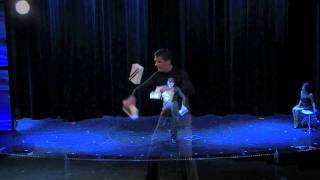 Jaz Danion PROMO juggling and balancing act 2012