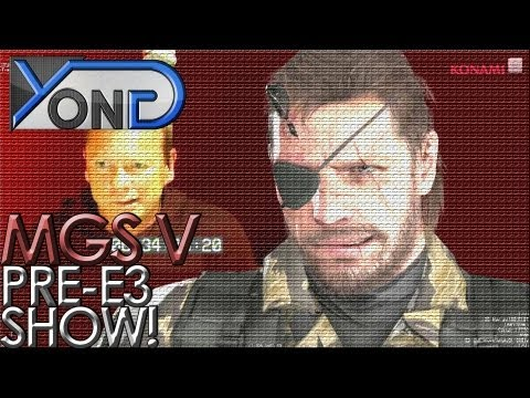 Metal Gear Solid V - Konami Pre E3 Show (Metal Gear Solid Portion)