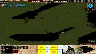 C4T2 - AoE 22 Random BiBi, Thầu vs Chim Sẻ, Chip Boy Ngày 26-9-2018