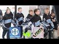 Kids HocKey FEHT vs Mode Hockey in Hockey Hall of Fame Tournament Toronto Ontario Canada