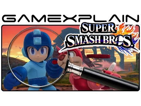 Super Smash Bros. Newcomers Analysis (Secrets & Hidden Details - Wii U & 3DS)
