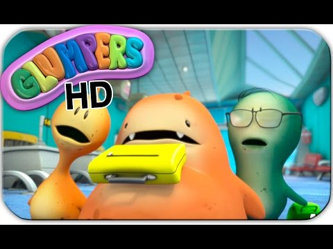 Glumpers, cartoons for children. Ep 22 HD - Airport