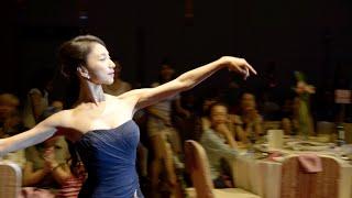 甜美系新娘用華麗的芭蕾舞進場,沒想到竟然變成超歡樂的叭叭叭叭!?