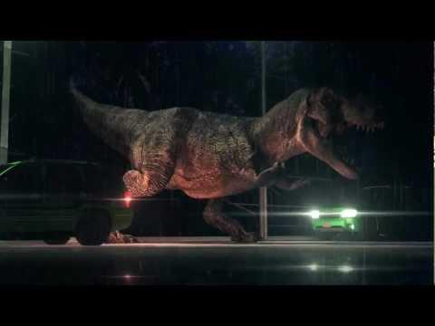 Dinosaurs - T-REX Jurassic Park 3D Animation