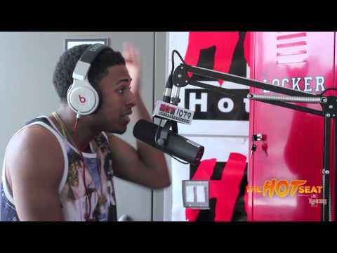 Diggy Simmons – Hot 107.9 Philly The Hot Seat Freestyle (Video)