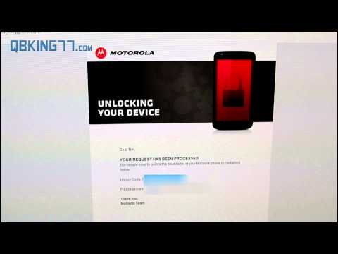 How to Unlock the Moto X Bootloader [Sprint. T-Mobile. Rogers. USC]