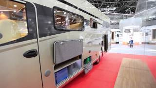 Frankia Platin Limited Edition - 2013 Dusseldorf Caravan Salon - MMM & Which Motorhome video review