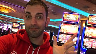 🎰LIVE at the Casino 🎉 $500 into Slot Machines 💯 Brian Christopher Slots