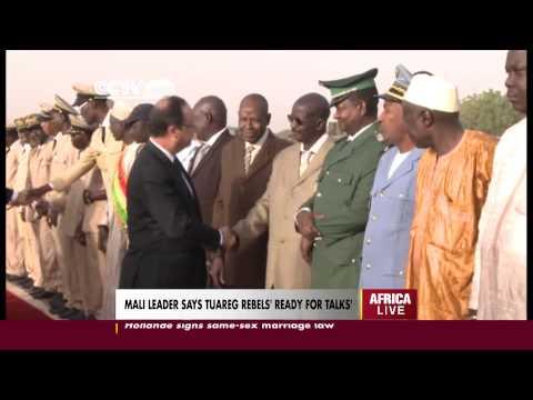 Mali Leader says Tuareg Rebels 'Ready for Talks'