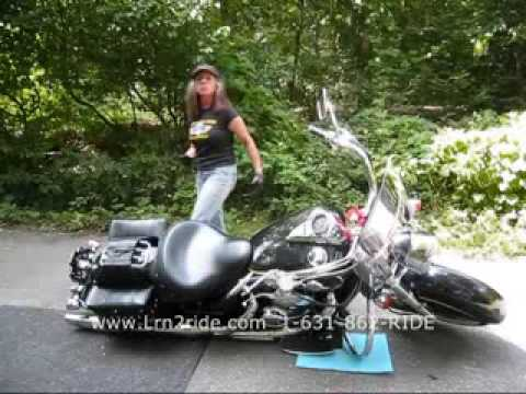 Motorcycle Riding Tips  How To Pick Up A Dropped Motorcycle