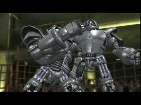 real steel(Живая сталь онлайн)-Бой близнецов