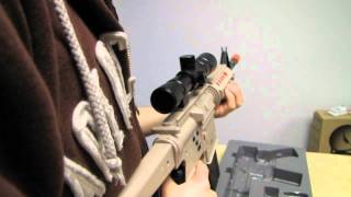 CTA Assault Rifle PS3 First Person Shooter Controller Unboxing & First Look Linus Tech Tips