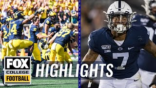 Week 2: Michigan escapes, Ohio State dominates, & Nebraska falls | FOX COLLEGE FOOTBALL HIGHLIGHTS