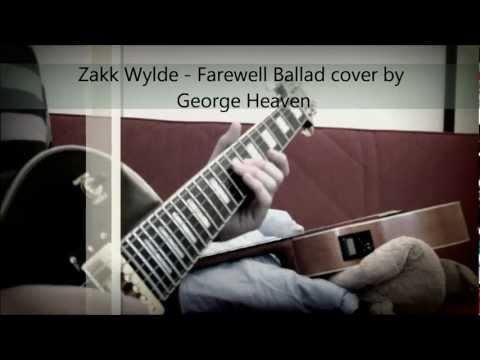 Zakk Wylde - Farewell Ballad HD ( Cover + Impro )