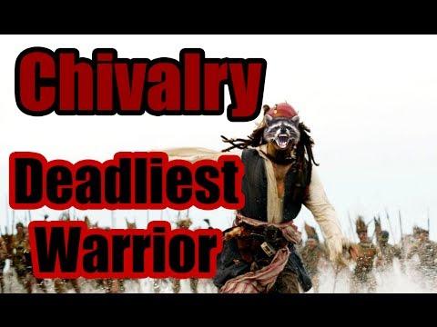Chivalry: Deadliest Warrior Джек Воробей крышует крышу