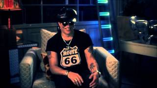 Slash watching YouTube Videos about Axl Rose and his famous Band called Guns N' Roses
