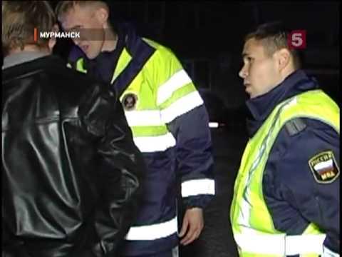 Погоня за нарушителем в Мурманске