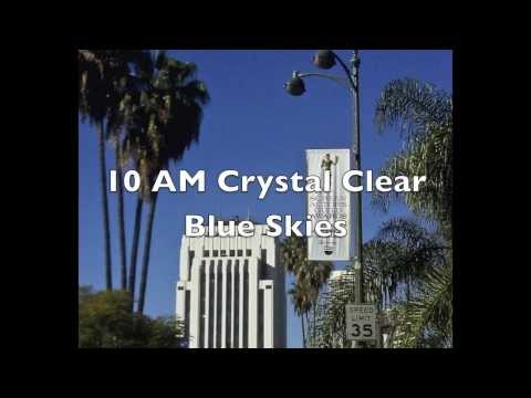 Progression of Chemtrails Mid Wilshire Los Angeles-January 6, 2014
