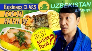 First Time in CENTRAL ASIA Uzbekistan Airline BUSINESS CLASS Food Review New York to Uzbekistan