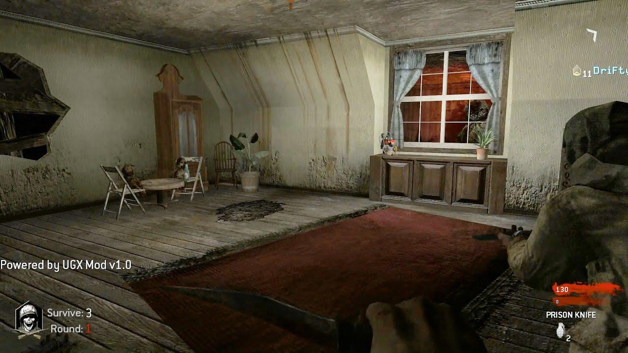 Zombie Bedroom Wallpaper Nazi Zombie Bedroom