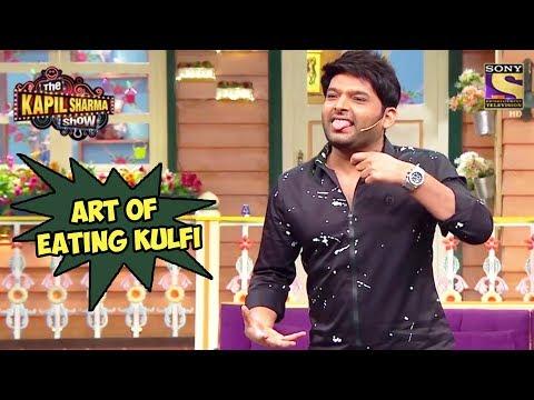 Kapil Explains The Art Of Eating Kulfi - The Kapil Sharma Show thumbnail