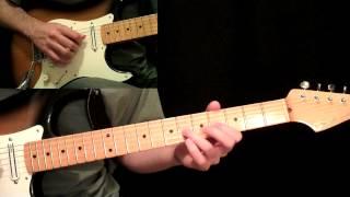 Ramble On Guitar Lesson Pt.3 - Led Zeppelin - Jimmy Page - Electric Guitar PreChorus & Chorus