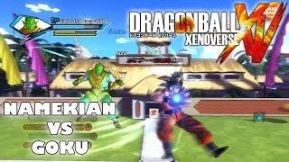 Dragon Ball Xenoverse Namekian Race vs Goku (PS4 HD Local Multiplayer Gameplay)