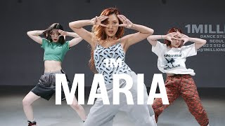 Download lagu 화사 (Hwasa) - Maria / Lia X Tina X Yeji Choreography