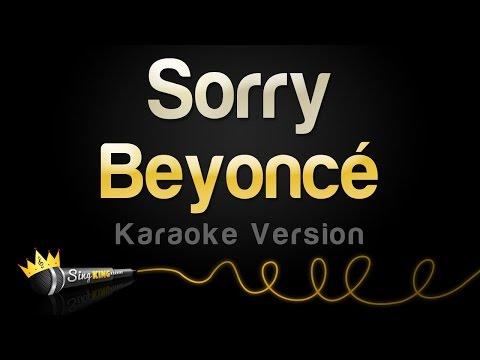 Beyoncé - Sorry (Karaoke Version)