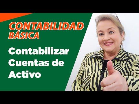 11. Contabilización Cuentas de Activo - Registro Contable : ElsaMaraContable