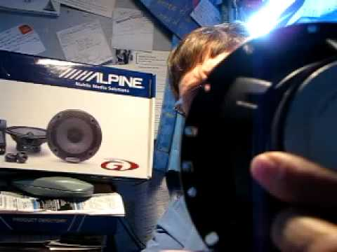Talk Audio check out the Alpine SPG-17CS